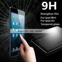 amazon retail sales - Hot Sale Latest Curved Premium Tempered Glass Screen Protector For iPad Air Air2 Retina Ultra Slim mm Glass Film Retail Pack