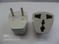 Wholesale 100 EU standard power adaptor European standard power adaptor EU turns power adaptor