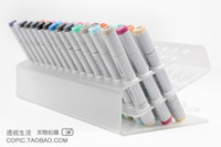 Wholesale Plastic pen holder for copic markers can hold markers freeshipping
