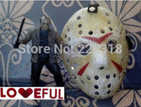 Wholesale New Red Color Cosplay Delicated Jason Voorhees Freddy Hockey Festival Party Halloween Masquerade Mask Loveful