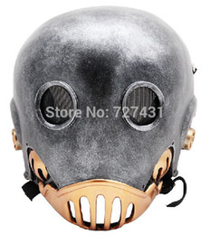 Wholesale Hellboy Kroenen paragraph Wire Mesh Tactical Mask wire mesh mask Copper