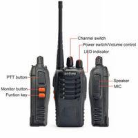 amature radio - 1set for Pofung BF S UHF MHz Handheld Walkie Talkie way Amature Ham Radio US Plug
