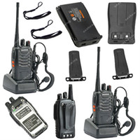 Wholesale 2x BAOFENG BF S UHF MHz W CH Ham Two way Radio Walkie Talkie ON0402