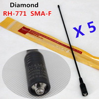 antenna diamond - Diamond RH SMA F Female Dual Band Antenna For UV R UV RC UV B5 UV B6 BF S TG UV2 KG UVD1P PX K TK Two Way Radio
