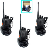 Wholesale Details about Pofung s Walkie Talkie CH UHF400 MHz W VOX Scan Monito Way Radio