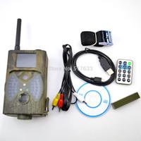 Cheap Wholesale-940NM scouting hunting camera HC300M HC-300M HD GPRS MMS Digital Infrared Trail Camera GSM IR Hunter Cam,free shipping+track No.
