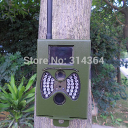 Wholesale HC300 Series Hunting Scounting Game Cameras Security Protection Metal Iron Box for HC300M HC300 HC300G Free Shippping