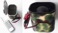 Wholesale camo color mp3 bird caller hunting bird device W with timer key remote
