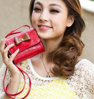 Precio de Monederos de las señoras libres-Al por mayor-Nueva llegada muchachas de la manera de las mujeres de las señoras bolso Mensajeros monedero bolsas grandes, 11 colores disponibles, envío libre