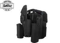 Cheap Glock Holster Black hawk CQC Holster tactical Combat Hunting Gun Accessories Thigh Holster for Glock 17 19 22 23 31 32