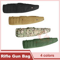 Wholesale 1 m Heavy Duty Gun Carrying Bag Rifle Case Tactical Rifle Gun Slip Carry Rifle Bag for Back Tan CP Green HT10