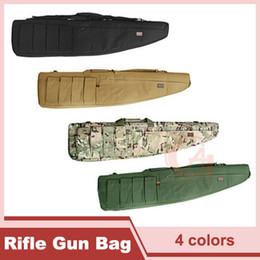 Wholesale 1 m Heavy Duty Gun Carrying Bag Rifle Case Tactical Rifle Gun Slip Carry Rifle Bag for Back Tan CP Green HT10