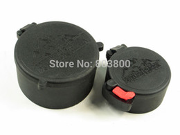 Wholesale mm amp mm Covers for mm Rifle Sight Lens Cover Dustproof Caps Quick Release for Gun Scope