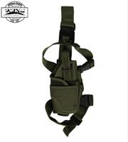 airsoft leg holster - Adjustable Tactical Gun Holster Leg Pistol Holster Pouch Bag airsoft sport outdoor bag