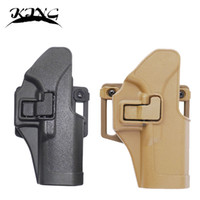 Cheap Wholesale-Black tan CQC holster Tactical Concealment Belt Holster Right Hand Holster For Glock 17 19 23 32 36