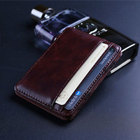 money clip - Fashion Retro style Mens Magic MONEY CLIPS Men s Leather wallets Multifunctional Credit Card Case Cash Holder Pocket Mini Wallet