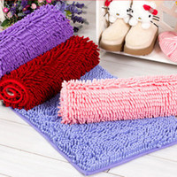 Cheap Free shipping chenille mats doormat slip-resistant pad Household items bathroom mat waste-absorbing carpet