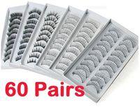 Wholesale 60 Pair Style Long False Eyelashes