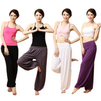 aladin pants - Women Trendy Yoga Pants Bloomers Sport Dance Jogging Pants Loose fitting Style Soft Aladin Pants WK0018