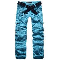camo clothing - Women Clothing Autumn Women s Camo Cargo Pants Girls Harem Hip Hop Pants Dance Costume Baggy Long Pants Casual Trousers C
