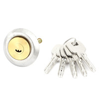 Wholesale Home Office Doors Metal Security Locking Deadbolt Lock Tapered Ned w Keys