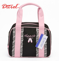 Wholesale Dttrol Lovely Princess Dance Bag Fairy Trims Bag Beautiful Lace On the Bag Children Size CM CM CM