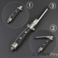 switchblade - Novel Style Switchblade Folding Pocket Comb Switch Blade Gift For Friends