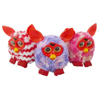 Wholesale Electronic LED eyes repeat toys for boom plush Phoebe Firbi pets compatible with furby toys for children s gift