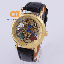 self winding watches men suppliers best self winding watches men whole brand goer new hollow men automatic self wind mechanical leather strap skeleton three fish watch shipping jx031 self winding watches men on