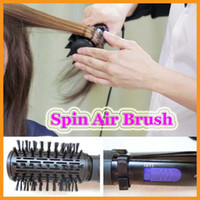 Wholesale Ifiniti PRO Hair Styler Roller Spin Air Brush Ceramic Hair Curler Electric Inch Rotating Hair styling tools Comb