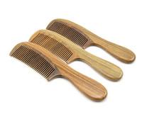 Wholesale Wood Comb Hair Brush Natural Health Sandalwood Comb Anti static Hairbrush Detangled styling tools Brush D