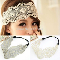 african hair wraps - New Womens Girls Hair Accessories Lace Headband Retro Hair Band Wide Head Wraps Kinds Of Style