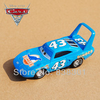 Wholesale Original Scale Pixar Cars Toys DINOCO The King Racing Car Diecast Metal Car Toy For Children