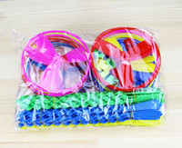 Wholesale Flying apsaras small frisbee flying spinning top hadnd ufo fly Disk colors shipping randomly Free shiping p