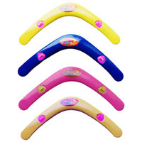 Cheap 4 Colors Soft Plastic Boomerangs hand controlled Toys for kids Children Outdoor fun and Sports Game Frisbee UFO Flying Saucer