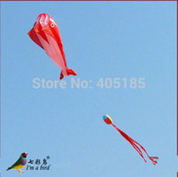 Wholesale Outdoor Fun Sports D m Red Black Blue Dolphin Software Power Parafoil Kite Flying