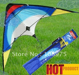 Wholesale HOT SELLING AUSTRALIA quot SPORT DUAL CONTROL SPORT STUNT KITE FUN TO FLY FLYING TOY