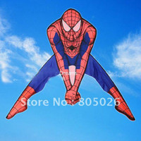 beautiful spider - Spider man kites10pcs lothot sell kite factory high quality with kite reel and line so beautiful flying higher