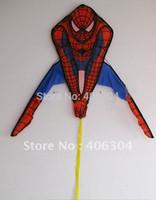 Wholesale by EMS cm tall spiderman kite superman kite children best gift
