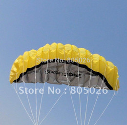 Wholesale High quality Stunt soft Power kite kite dual line traction kite store with handle line kite surfing hongyun wei
