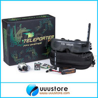 airplane headset - FatShark FPV Goggles Teleporter V3 RTF FPV Headset System w Camera and G TX For FPV Quadcopter