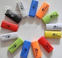 Wholesale 100pcs USB T Flash card reader