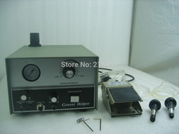 Pneumatic  Machine Double Ended Graver max Graver Tool Jewelry  with 2 handpieces