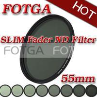 Wholesale 2016 high quality Fotga mm Slim fader ND filter adjustable variable neutral density ND2 to ND400 NEW