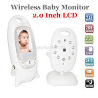 baby giftbox - 2 inch LCD Screen Wireless Digital Video Baby Monitor GHz Two way Talk Night Vision Camera with Music Giftbox Package quot