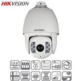 Wholesale-2pcs lot HIKVISION 2MP 20X Optical Zoom 150M IR Smart Tracking Defog IP66 Network IR PTZ Speed Dome IP Camera DS-2DF7284-A