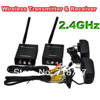 av signal sender - GHz Wireless W mW Audio Video AV Signal Sender Transmitter amp Receiver CCTV