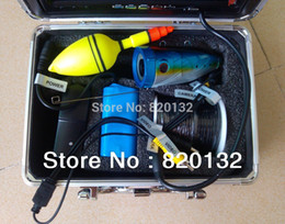 """Wholesale-Free Shipping 30M 7""""TFT Color Monitor 700TVL HD Underwater Camera Fishing Underwater Video Camera with Video Recording"""