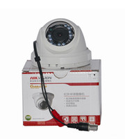 Cheap Wholesale-Hikvision DS-2CE5582P(N) -IR1 1 3 Inch DIS 600TVL high resolution 20m IR Distance IP66 rating Weatherproof Camera