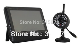 "Wholesale-Digital Security System 2.4Ghz 7"" LCD transmission distance up to 300m wireless video surveillance kit"